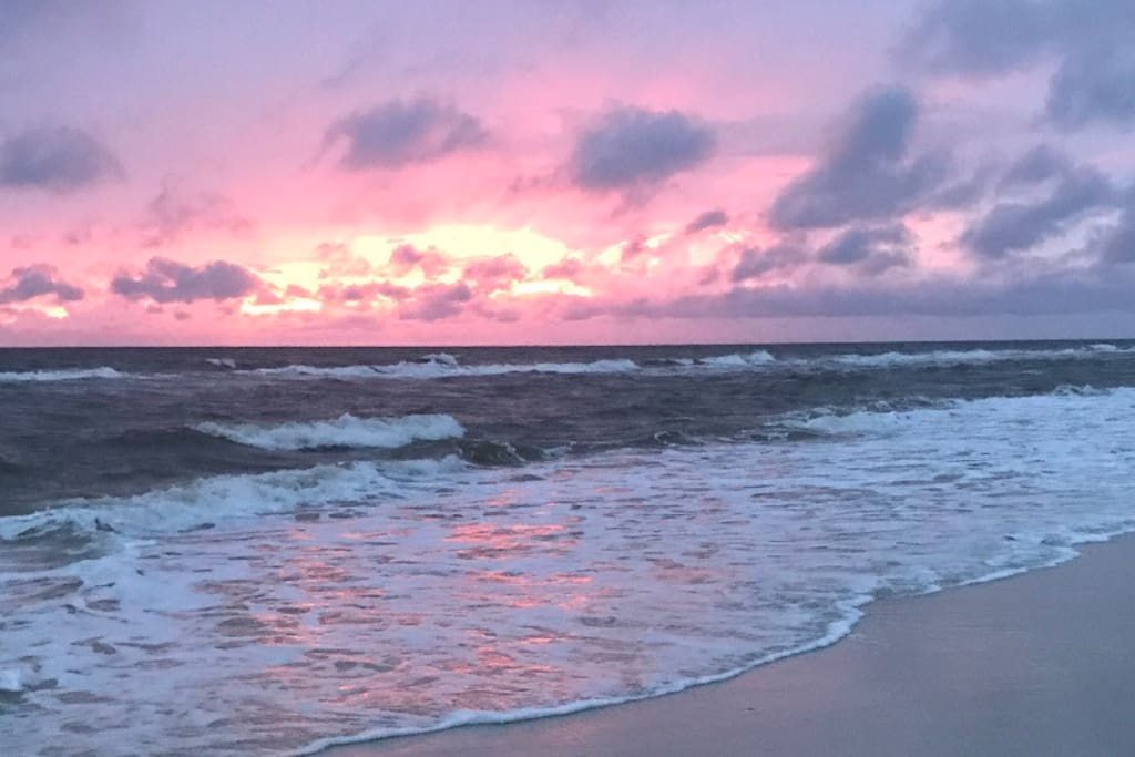No filter needed for God's painting (Cape San Blas)