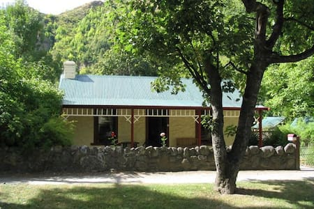Historic stone cottage in Arrowtown