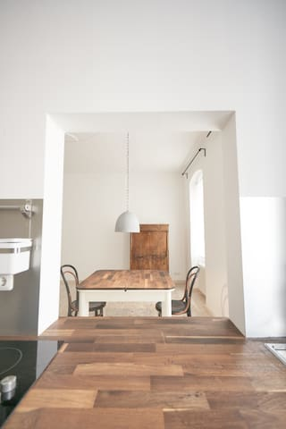 old dwelling freshly reconditioned - Linz - Apartamento