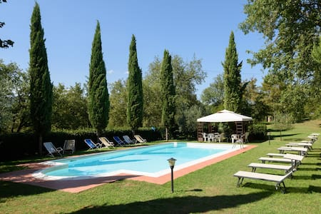 Villa Daina - pet friendly country house with pool - Bucine