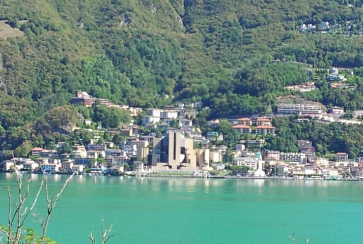 Your location, Campione d'Italia, 4 miles from Lugano, 45 minutes drive from Milan