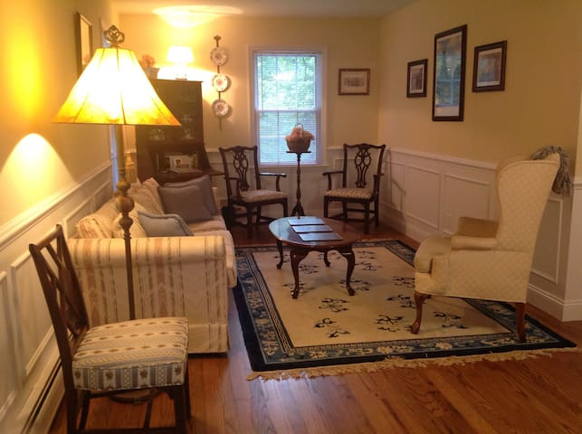 Cozy Apartment in Horse Country - South Salem - Apartamento