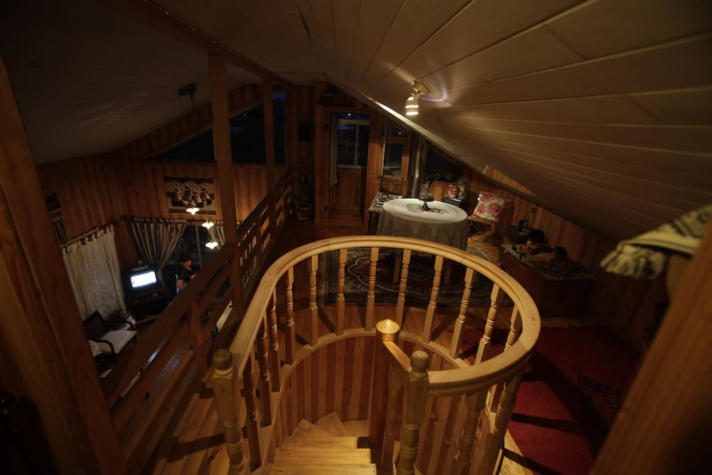Vista panorámica segundo piso