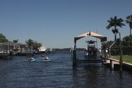Tampa Bay Oceanfront House: Boating Fishing Kayaks - Palmetto