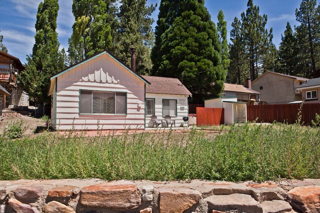 Bear mtn view spa kitchen wifi cabins for rent in big for Cabins for rent in big bear lake ca