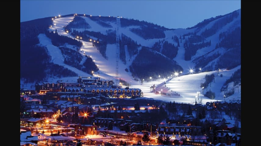 Christmas holiday ski heaven in park city condomini for Affitto cabina park city utah