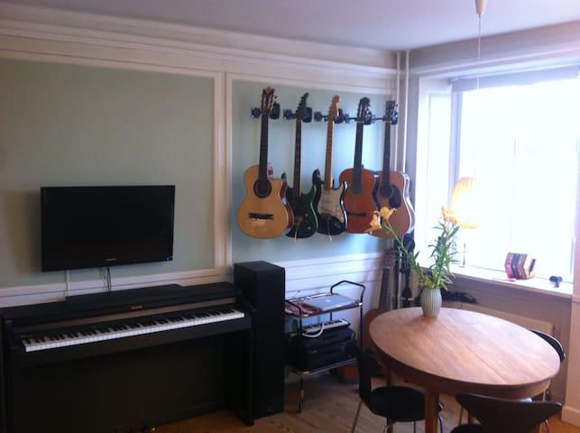 Superb 2 room apartment, center of Copenhagen