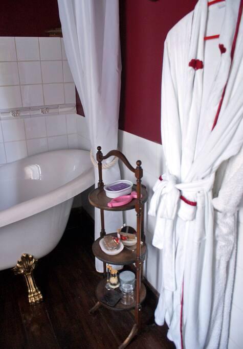 Private bathroom (Romantique)