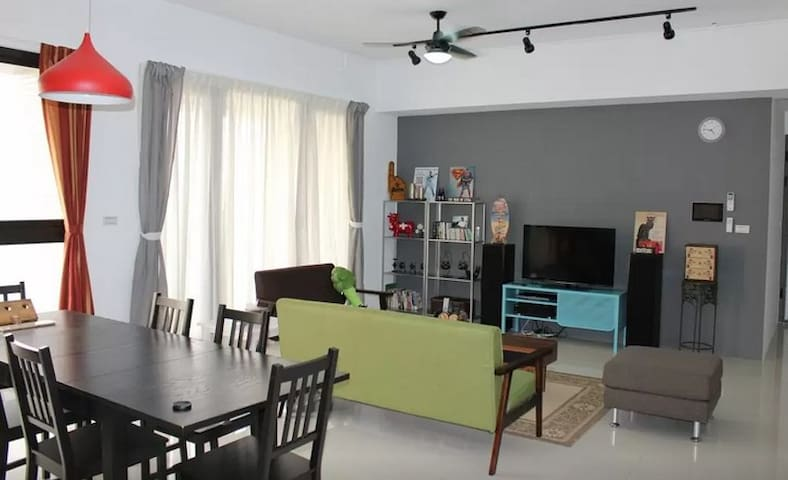 New3BR W/Airport,NightMarket,Outlet - Zhongli District - House