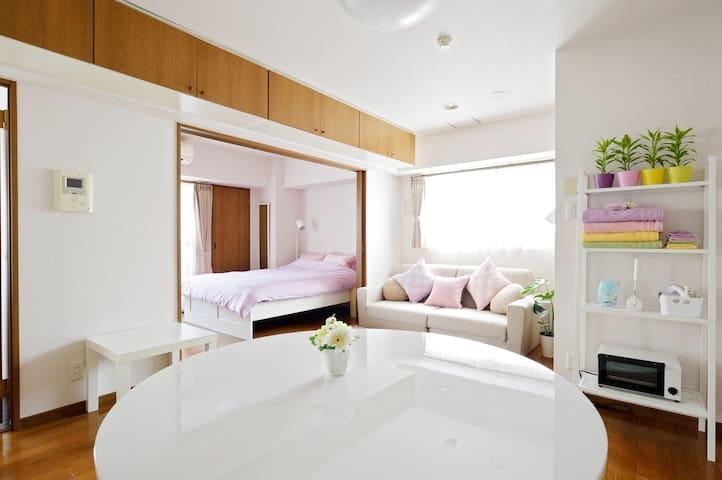 Room1017★1 min from Dotonbori of Osaka★Namba★Doton