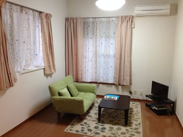 1 flat room for long stay - Room1 - Sagamihara-shi Minami-ku - Apartemen