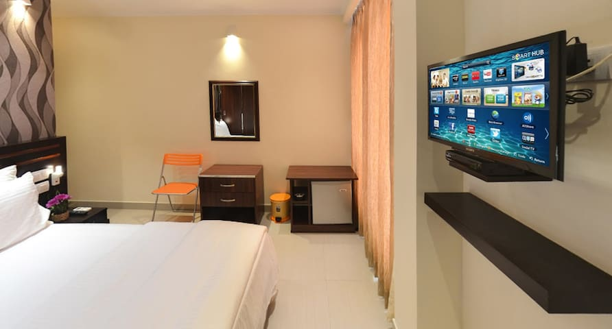 Deluxe Double Room at Splendid - Negombo - Huoneisto