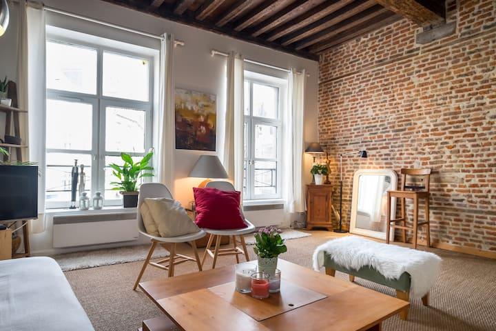 Appartement Vieux Lille (Lille) - Lille - Apartamento