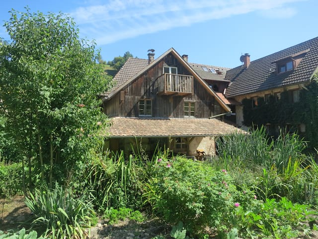Farmstay Rössle in the Black Forest - Kleines Wiesental - Apartament