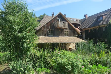 Farmstay Rössle in the Black Forest - Kleines Wiesental - Appartamento