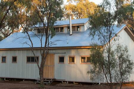 The Shearing Shed House, Echuca