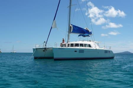 Les seychelles en catamaran - Grand Anse - Лодка