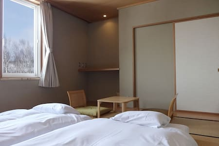 Ebina Japanese Tatami Room - Niseko-chō - Bed & Breakfast