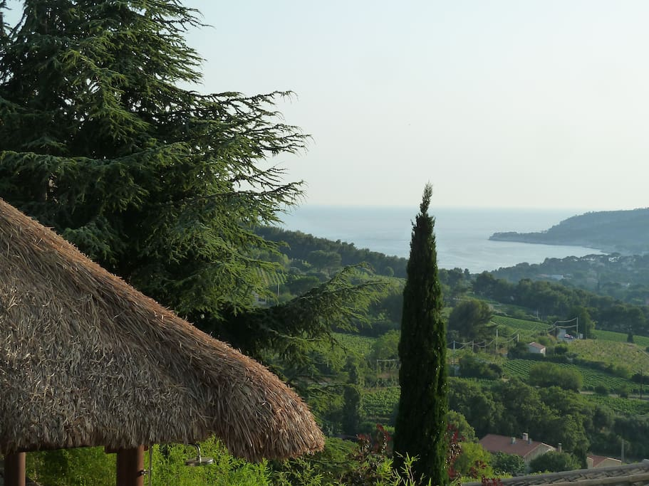 Vue exceptionnelle sur la baie de Cassis