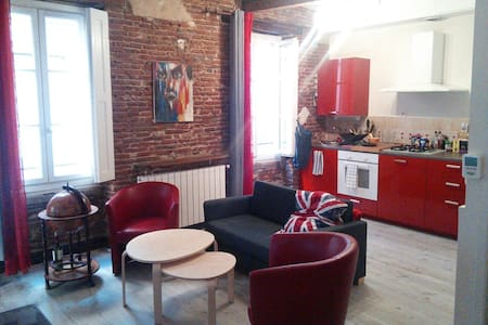 Nice flat in the center of Toulouse
