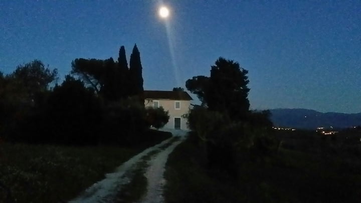 Farmhouse in Sabina with view to Rome and Montains