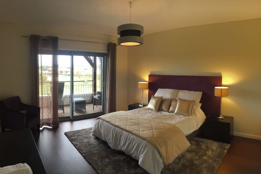 Master bedroom with ensuite and private terrace