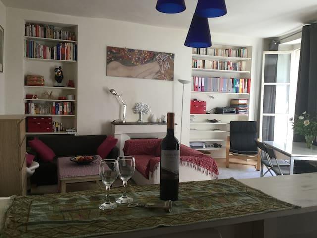 Grand studio artsy Saint Germain - Paris - Apartmen