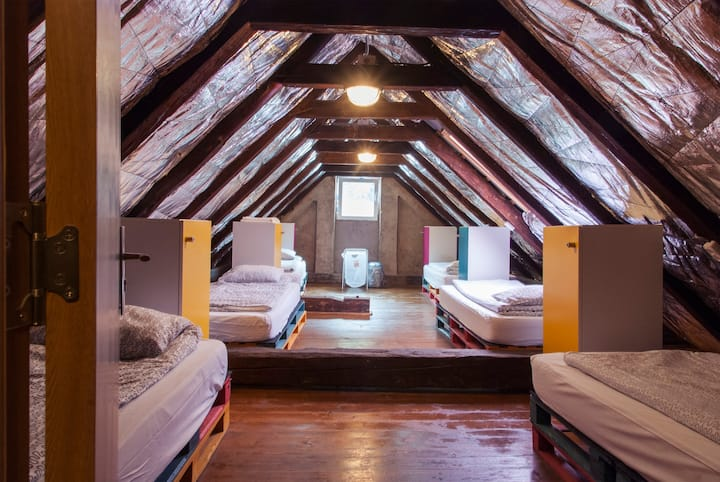 Bed in dormitory in LOFT area - Brasov