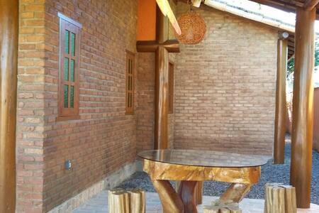 Casa nova rústica em Arraial D'Juda - Porto Seguro