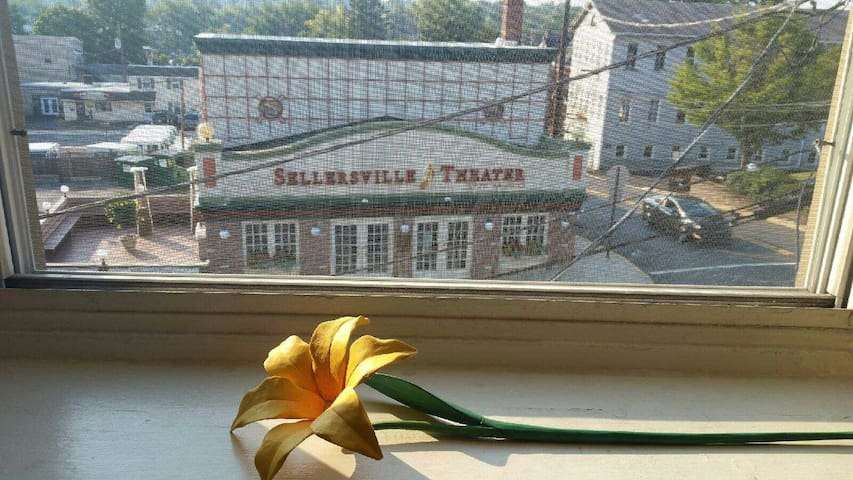 Sellersville Theater Music Retreat - Sellersville - Apartamento
