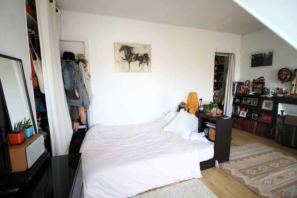 Un grand lit certifié grand confort par tous !