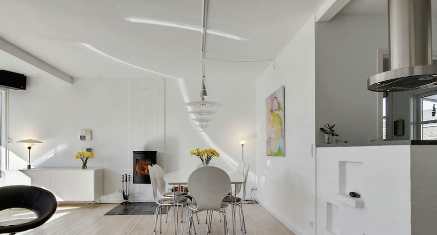 Wonderful family holiday 200 m2 - Hornbæk - Huis