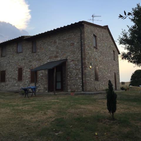Casolare con piscina in Umbria - Amelia - Apartamento