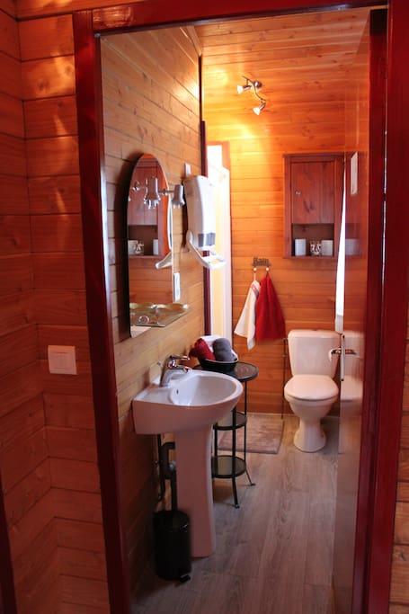 salle d eau privative avec douche