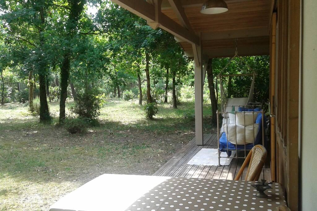 adorable maisonnette bungalows louer l ge cap ferret aquitaine france. Black Bedroom Furniture Sets. Home Design Ideas
