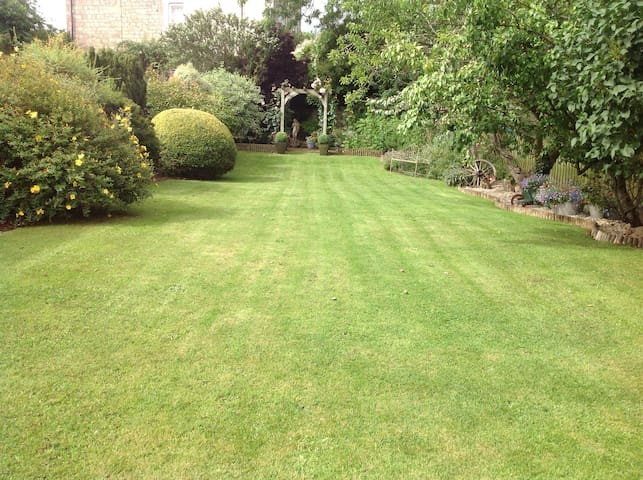 'our beautiful south facing garden'