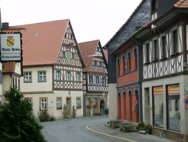Close to the franconian Jura - Weismain