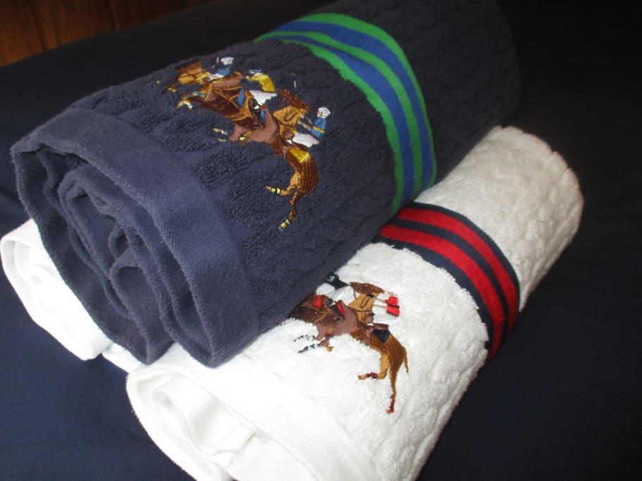 Good quality towels.