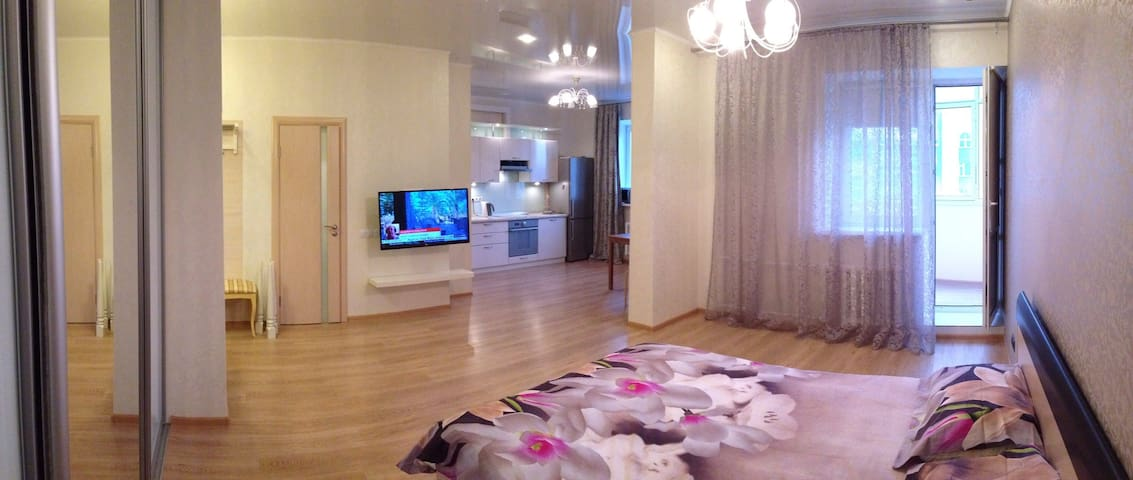 ❤️ Уютная студия рядом с Аквапарком - Казань - Appartement