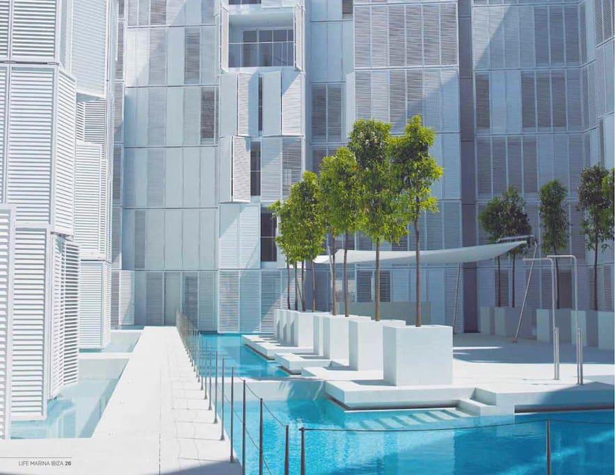 Ibiza ultra modern7 private garden apartamentos en alquiler en ibiza islas baleares espa a - Apartamentos alquiler en ibiza ...