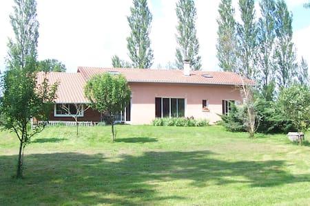 Chambre/ds maison agréable/gd esp v - Tercis-les-Bains - Rumah