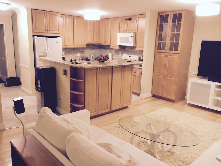 Shared kitchen & dinning room