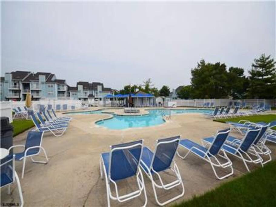 Pool access during the summer.