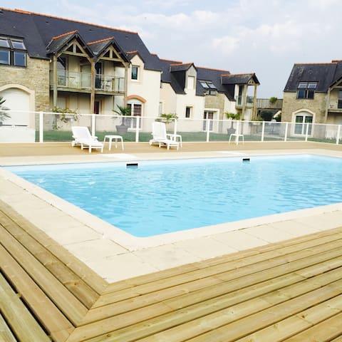 Gite indépendant coquet appartement - Beauvoir - Wohnung