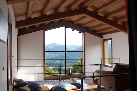 Stunning house with superb views. - Girona - Hus
