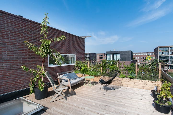 Appartment 125m2 with roofterrace - Amsterdam - Apartment