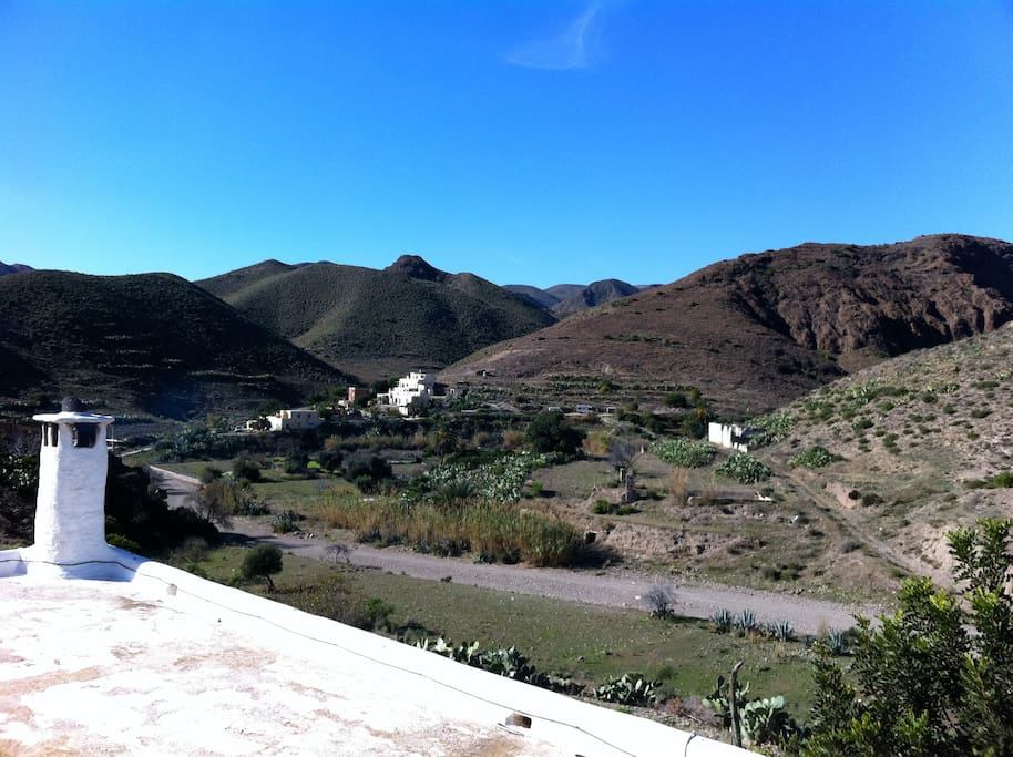 Our beautiful Cortijo in a spectacular Valley - Nuestro precioso cortijo en un valle maravilloso