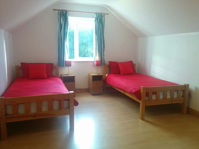 Spacious Twin Room - Ballyliffin - House
