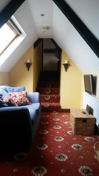 Your own private TV room with Freeview.