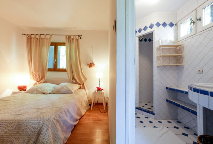 Private room with shower in Aix-en-Provence